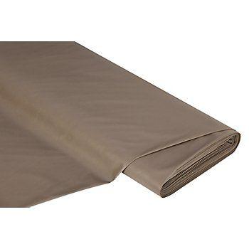 """Elastisches Lederimitat """"Klara"""", Farbe: taupe, querelastisch, weich im Griff, Breite: 140 cm, Gewicht: ca. 115 g/m². Material: 50 % Polyester, 50 % Polyurethan.Das weiche Lederimitat hat eine tolle Rückseite aus Veloursstoff. Der Veloursstoff ist ebenfalls angenehm weich und liegt gut auf der Haus. Das Lederimitat ist dank seiner Elastizität ideal für figurbetonte Hosen, Röcke, coole Biker-Jacken, Westen uvm."""