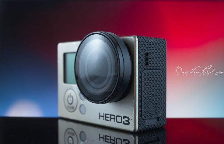 Go Pro - shooting of go pro Hero 3 in my home made studio