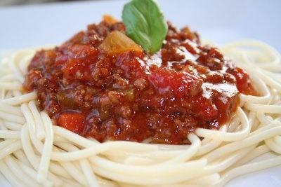 Légende d'Automne: Sauce à spaghetti maison~mijoteuse~