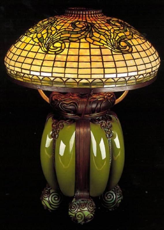 Art Nouveau Table Lamp by L.C. Tiffany ca.1910