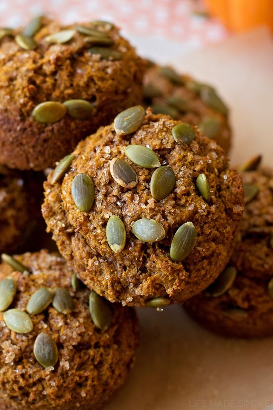 Pumpkin Bran Muffins - Ariel says:  These turned out great.  Especially good with a little apple butter.