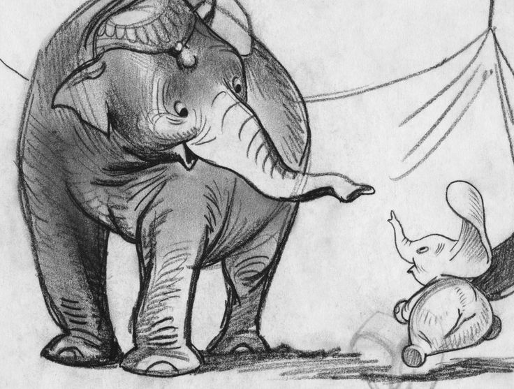 Mrs. Jumbo & Dumbo | Dumbo
