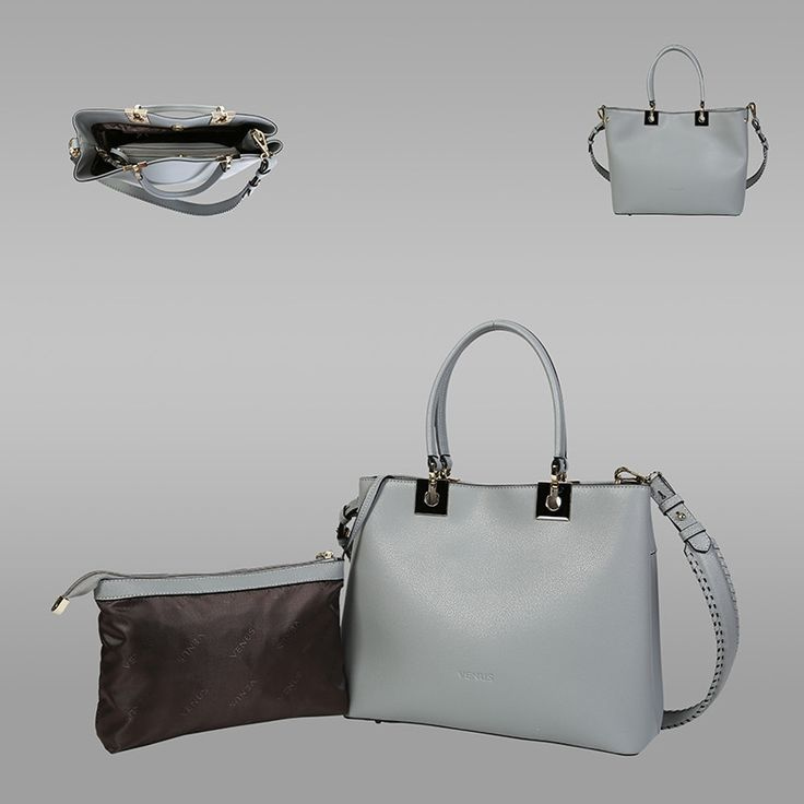 Grey Colour Cross-Sectional Leather