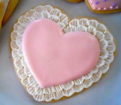 Valentinské • sušenky