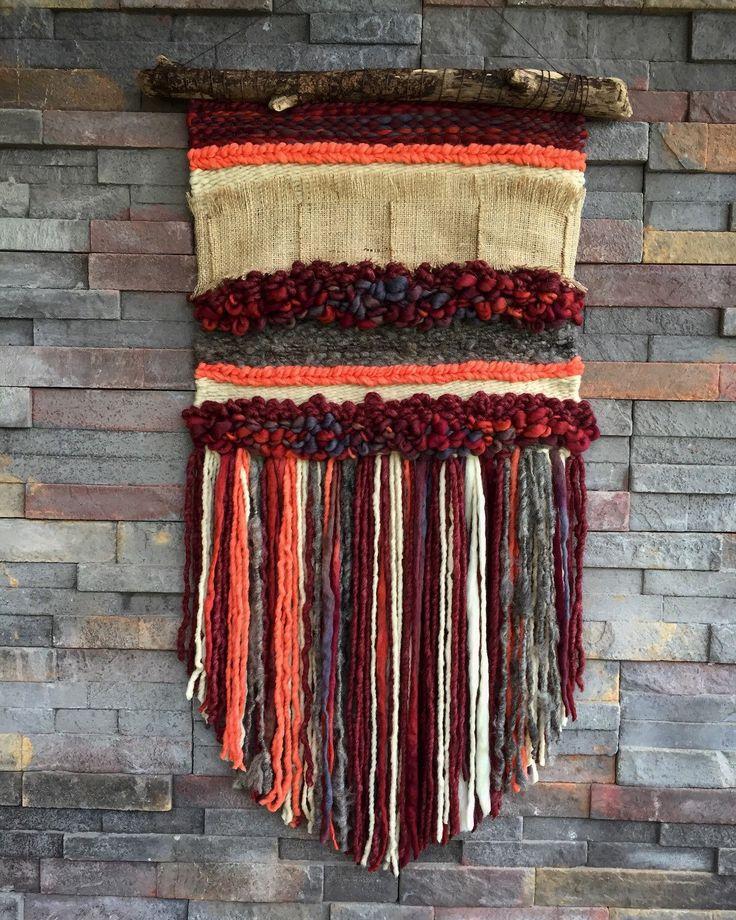 Un favorito personal de mi tienda Etsy https://www.etsy.com/es/listing/285754207/woven-wall-hanging