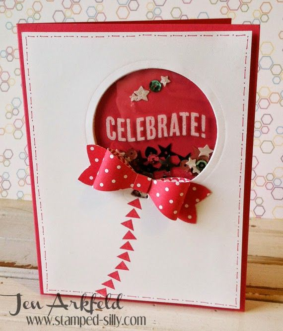 Stamped Silly: Shaker Cards that won't FAIL!