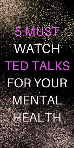 I have been obsessing over TED talks lately. Streaming them on TV while I clean the house is my new favorite way to multitask. Here are some great ones related to mental health that I recommend. I hope you like them!  This TED talk discusses embracing your depression can actually make your life...