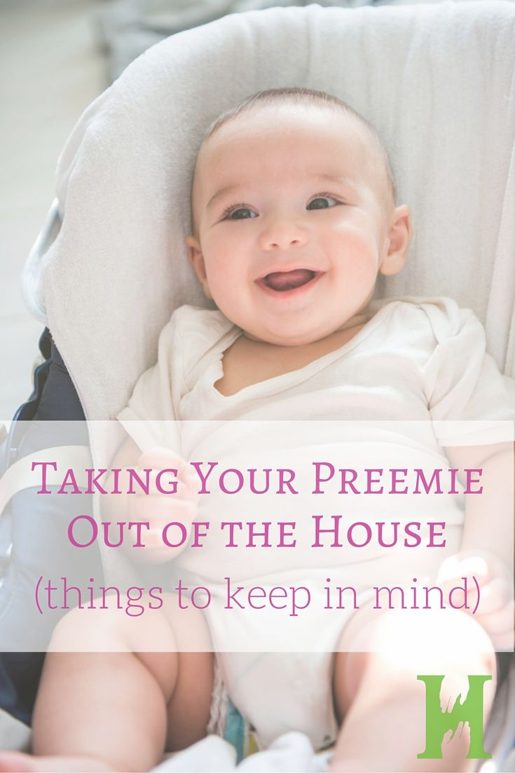 Tips for Taking Your Preemie Out of the House