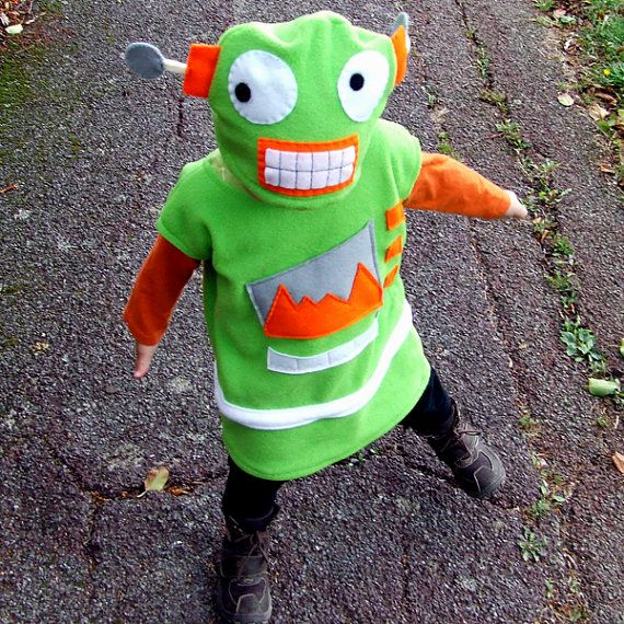child cookie robot green costume for baby toddler by GuuGuuGa, $95.00