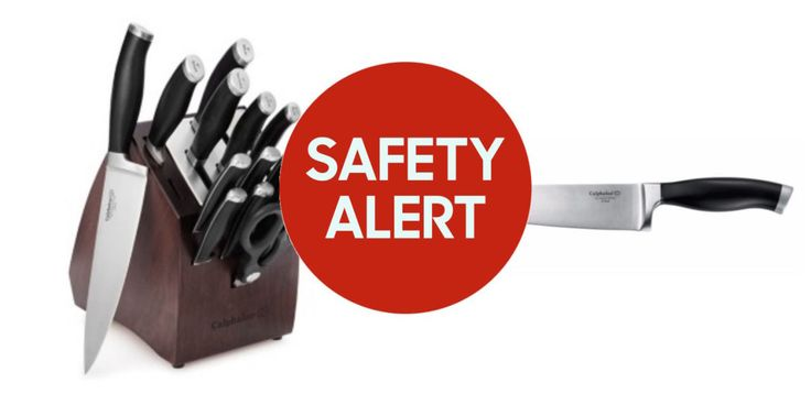 Calphalon Recalls Over 2 Million of Its Contemporary Cutlery Knives