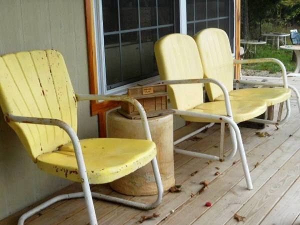 Antique Motel chairs in the garden1931 best Motel Chairs  Some Are Mine and Some Are Not  yet  . Antique Motel Chairs. Home Design Ideas