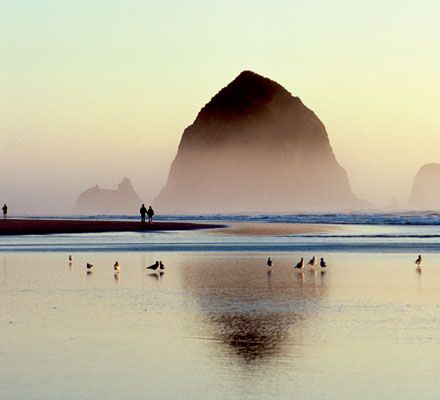 Canon Beach- If i didn't live in the most beautiful place already....This would be where I could call home.