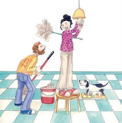 Cómo lograr que toda la familia colabore en la limpieza del hogar