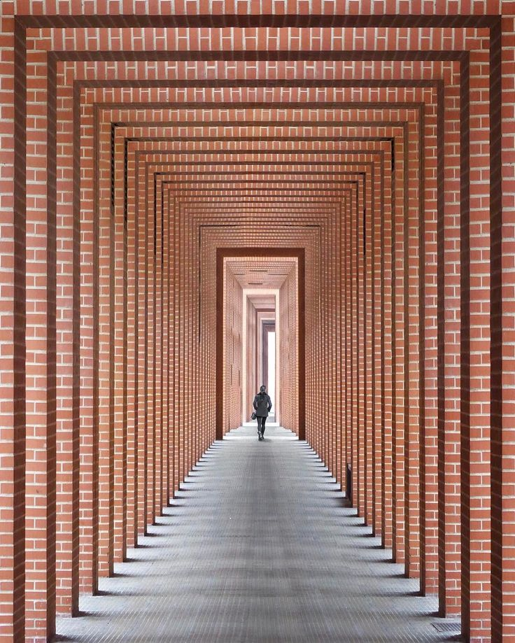 Tunnel of light  #Barcelona #architecture