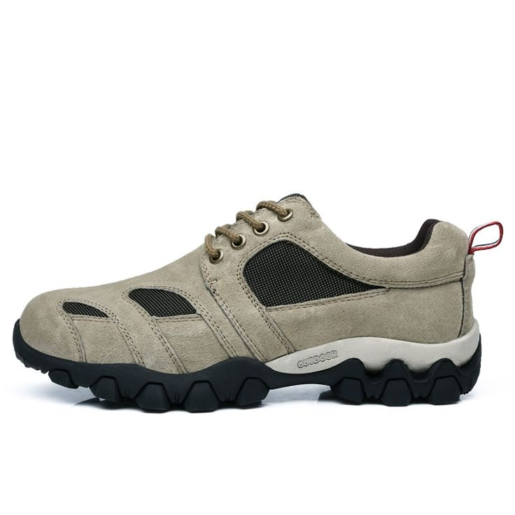 32.50$  Buy here - http://alijcy.shopchina.info/go.php?t=32727973395 - 2016 Hiking Boots For Men Sale Spring/Autumn Walking Boots Mens Non-Slip Mens Outdoor Trainers Wearable Hiking Sneakers For Men  #buymethat