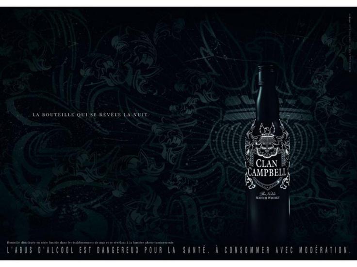 Clan Campbell - La bouteille nuit