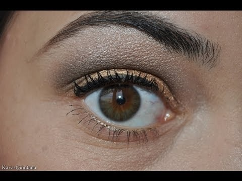 How to bril, monolid en 3D oog make-up met Urban Decay Naked palette