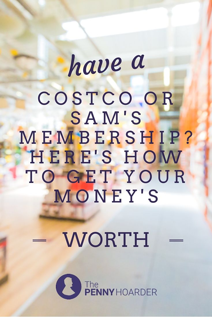 If you're going to pay to join a warehouse club, make sure you're getting the most from your membership. Here's how to take full advantage of the benefits -- and check for little-known discounts even if you're not a member. - The Penny Hoarder http://www.thepennyhoarder.com/costco-sams-club-membership-heres-get-moneys-worth/