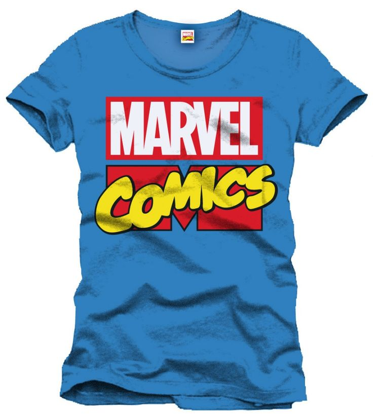 Marvel Comics Logo Koszulka