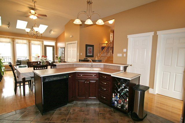 Kitchen Designs Around Central Island