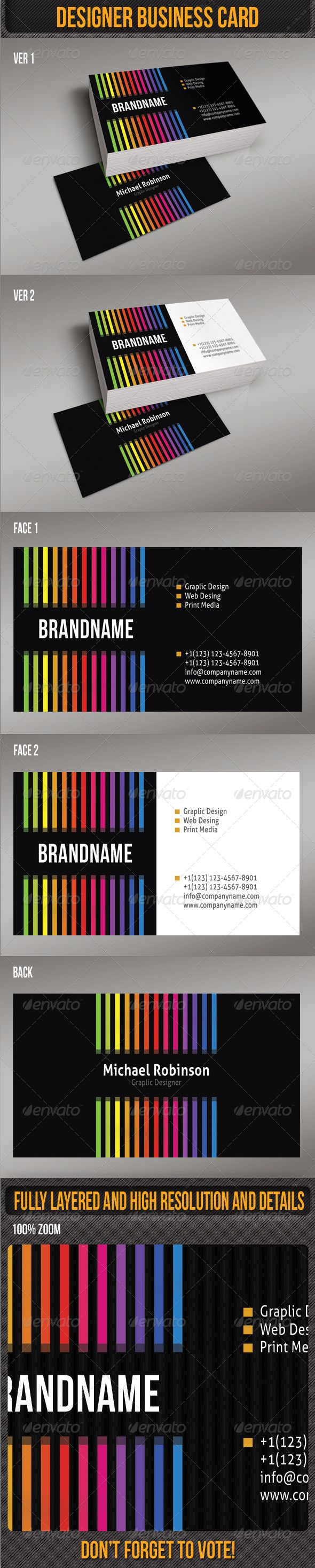 Best 105 print templates ideas on pinterest print templates font designer business card graphicriver psd files are fully layered and editable high resolution and reheart Image collections