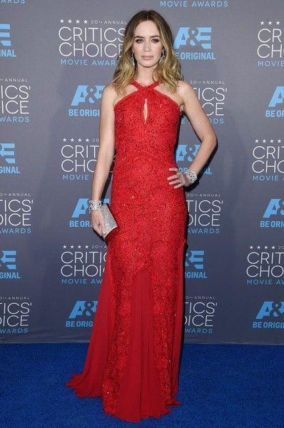 Emily Blunt Photos: Arrivals at the Critics' Choice Movie Awards