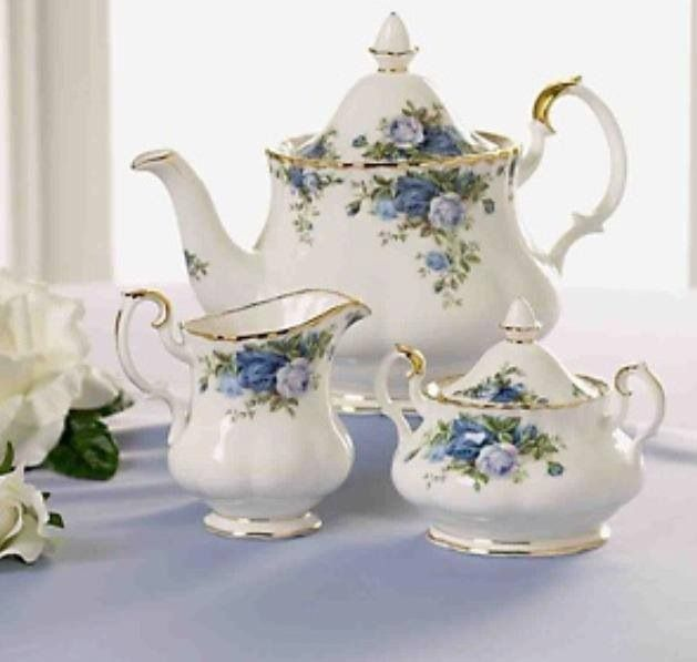 Royal Albert Moonlight Roses - I have these pieces and they're lovely but they need friends. :)