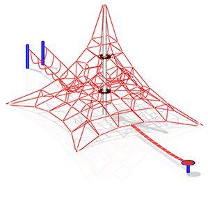 Piramidy linowe na place zabaw - http://www.linarium.com.pl/oferta.html,26,PYRAMID
