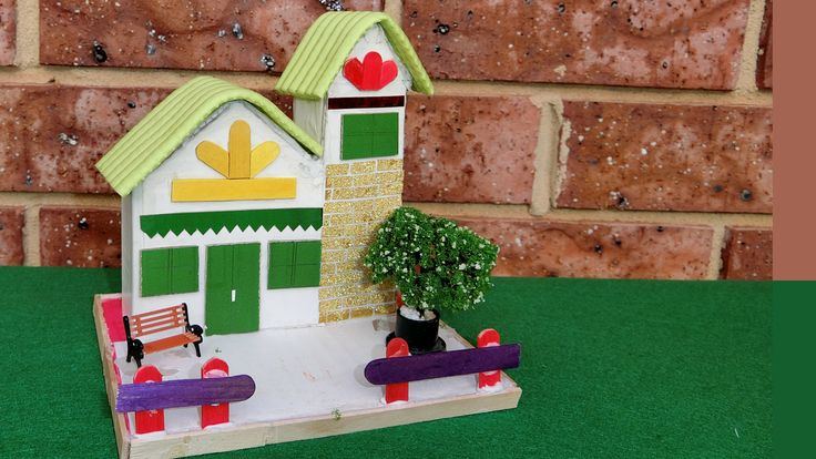 how to make a victorian house for school project