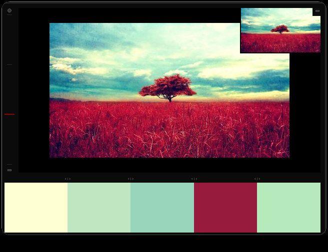 Vintage palette