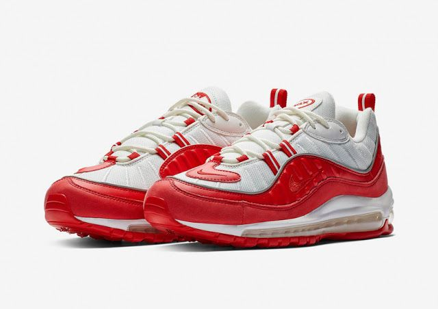 Swag Craze  First Look  Nike Air Max 98 - University Red  d48dbd440