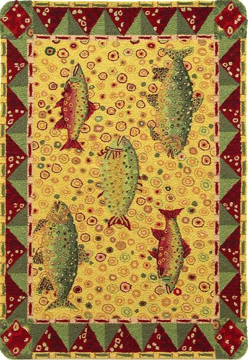 10 Images About Fish Rugs On Pinterest Pink Fish