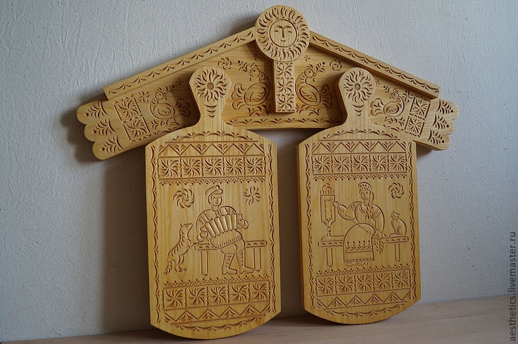#Russia, wood #carving, #cutting boards, amazing cat, #bird, dog, distaff, sun, Russian carver #Vladimir Kolesyankin