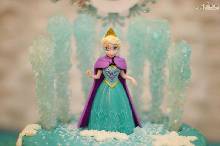 Disney Frozen Birthday Party  Elsa birthday cake