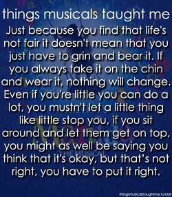 To celebrate the opening of Matilda the musical yesterday. My lesson from my favourite song on the album. ♥