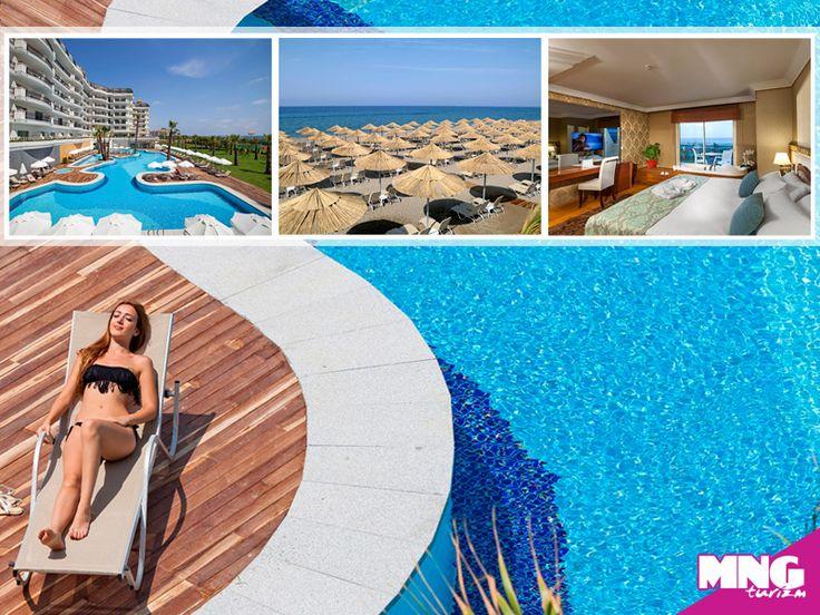 Heaven Beach Resort ile cenneti Side'de yaşayın. #mngturizm #tatiliste #heavenbeach #antalya #side #holiday #beach #travel