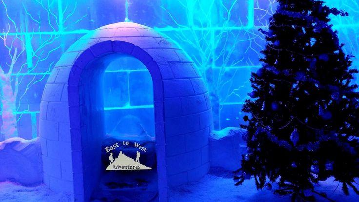 Want to grab a hot chocolate in subzero temperatures in Dubai. Try the chill out lounge.❄️☃️حاب تشرب قهوة بمكان درجة الحرارة تحت الصفر جربو كافيه chillout  http://www.easttowestadventures.com/en/30-things-dubai/ #easttowestadventures #travelblogger #thepalm #mydubai #chilloutlounge #ice #hotchocolate #visitdubai