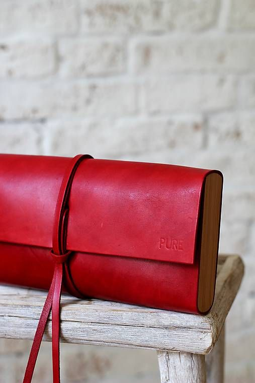 PURE / Listová kabelka MINI RED