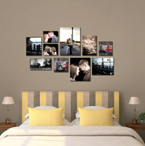 25 unique photo collage canvas ideas on pinterest photo collage walls wall picture collages. Black Bedroom Furniture Sets. Home Design Ideas