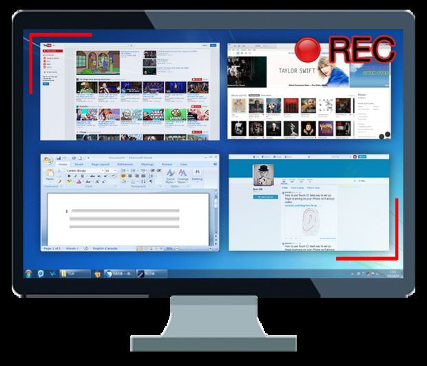 Real-time Screen Monitoring 1. Centrally view and track users' desktop activities at any time 2. Specify what application screen snapshots will be recorded 3. Set different snapshot intervals on different applications