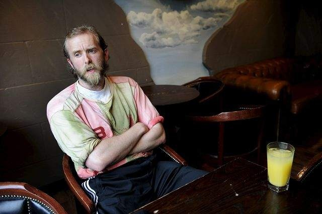 Varg Vikernes after his release from prison for murder of a fellow member Øystein Aarseth when they both were in Mayhem (band) and church burnings.