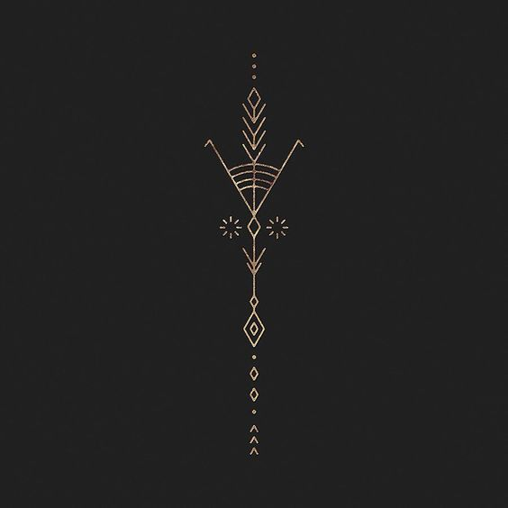 nice Geometric Tattoo - by penabranca Mehr...