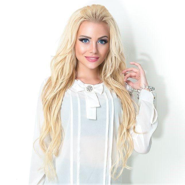 Блузка с рюшами с доставкой