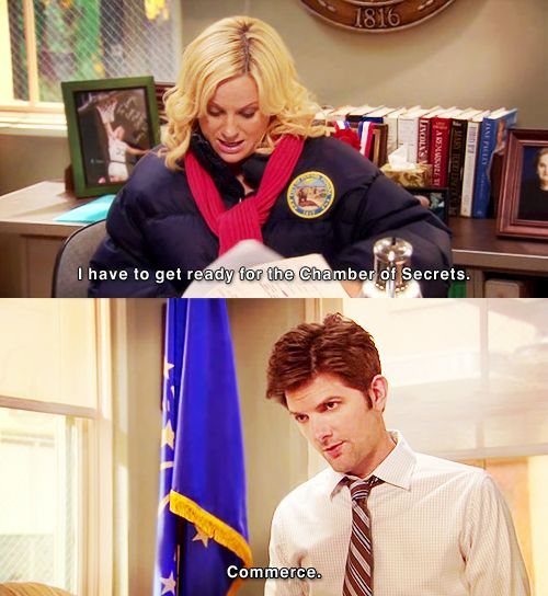 Leslie Knope and the Chamber of Secrets | Parks and Recreation | #ParksandRec