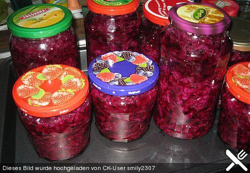 Rotkohl einmachen, ein tolles Rezept aus der Kategorie Gemüse. Bewertungen: 24. Durchschnitt: Ø 4,2.