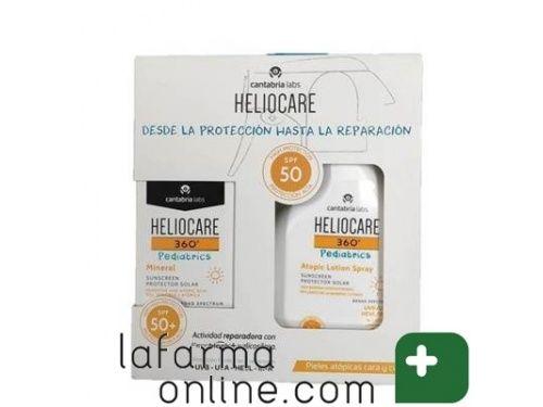 Pack Oferta Heliocare 360º Para Ninos Crema Mineral Pediatrics Y Spray Para Piel Atopica Pediatrics Lafarmaonline En 2020 Cremas Piel Sensible Spray