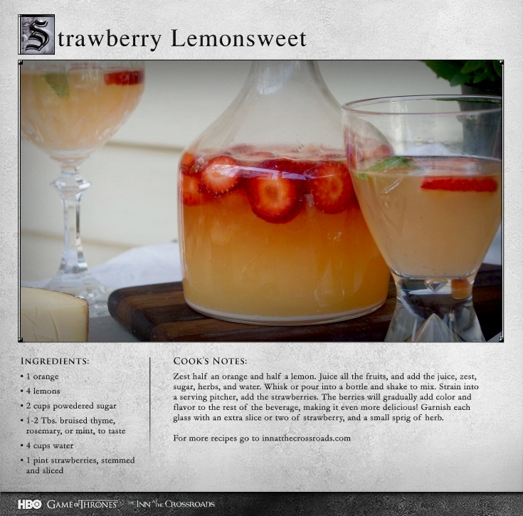"""""""Wonderful subtle flavors imparted by the herbs and strawberries."""" MORE RECIPES: http://itsh.bo/LQC1sC"""