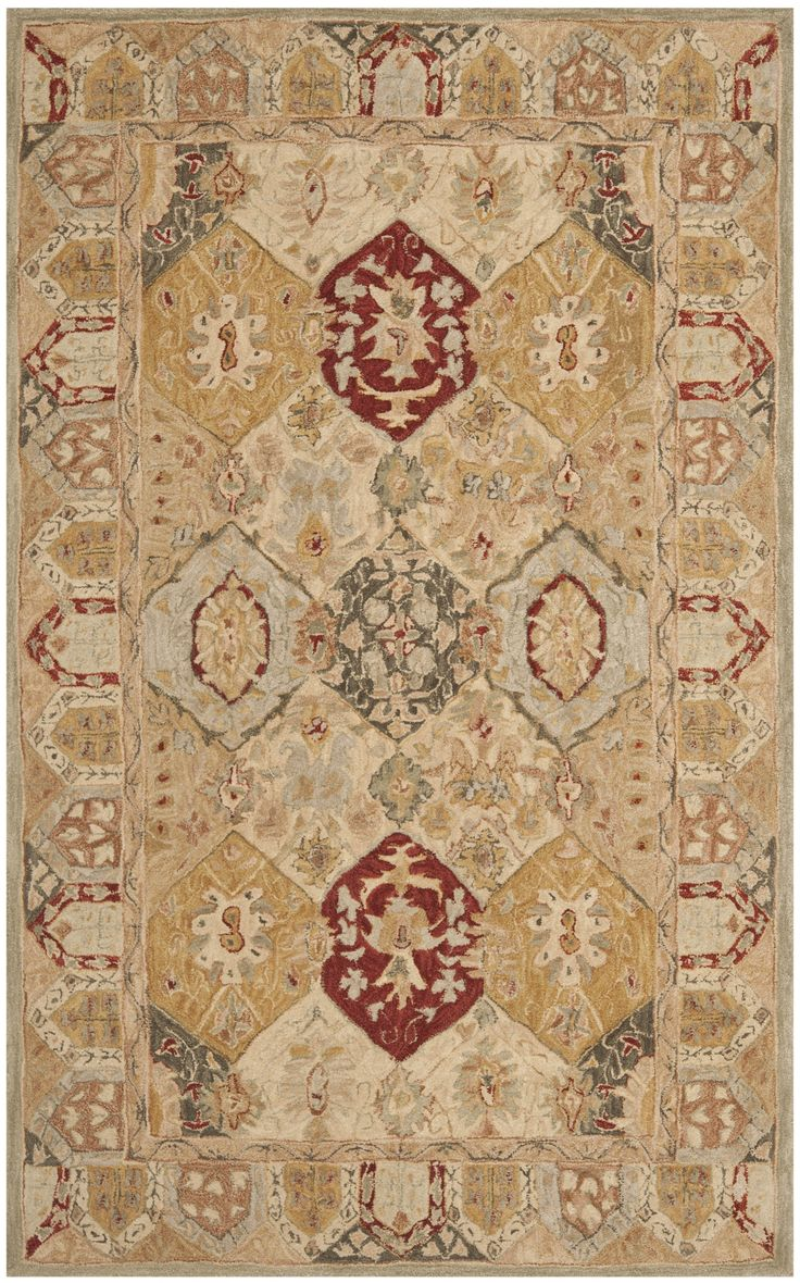 Safavieh Anatolia Tan Area Rug Reviews Wayfair