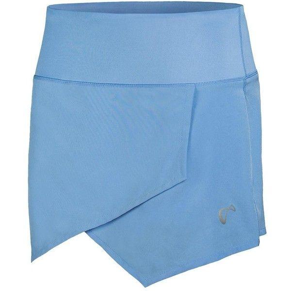 Women`s Origami Tennis Skort Vista ($50) ❤ liked on Polyvore featuring activewear, activewear skirts, golf skirts, logo sportswear, athletic skorts, blue skort and athletic sportswear