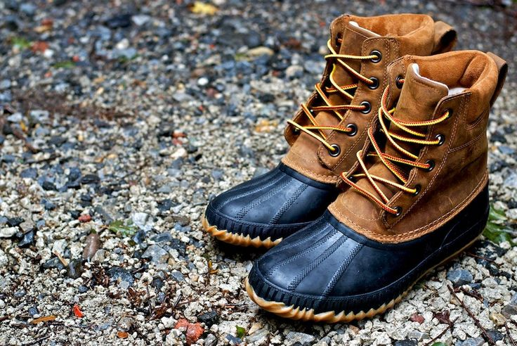 Sorel's version of the L.L. Bean Duck Boot